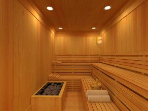 gym with sauna near me
