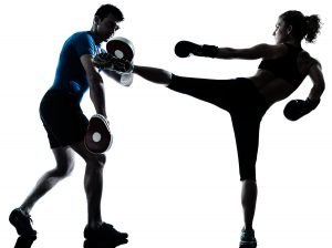 kickboxing gym workout